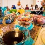 Bord med mat, Folkhögskolans dag Västerås 2015