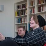 deltagare på allmän kurs i soffa, Folkhögskolans dag Västerås 2015