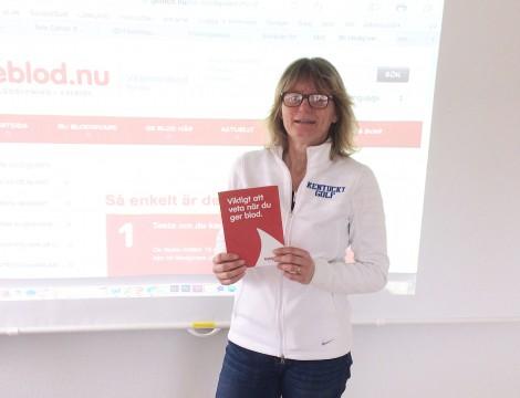 Gitte Johansson föreläser