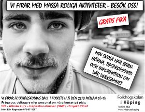 Folkhögskolans dag Köping