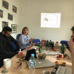 Jasna Jasarevic, ansvarig för Tuzla Community Foundation berättar om verksamheten. Foto - Tanja Majid