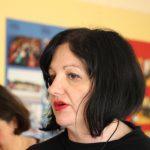 Mima Dahic jobbar som koordinatör på ViviZene, en organisation som också får stöd av Palmecentret. Foto - Jan Pettersson