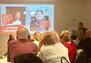Bild av deltagare på konferensen