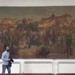 Målning av Ismet Mujezinović