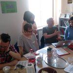 Janne samtalar med Nerma från Tuzla Community Foundation