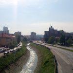 Huvudvägen genom Tuzla
