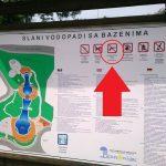 Vapenförbud vid badet i centrala Tuzla